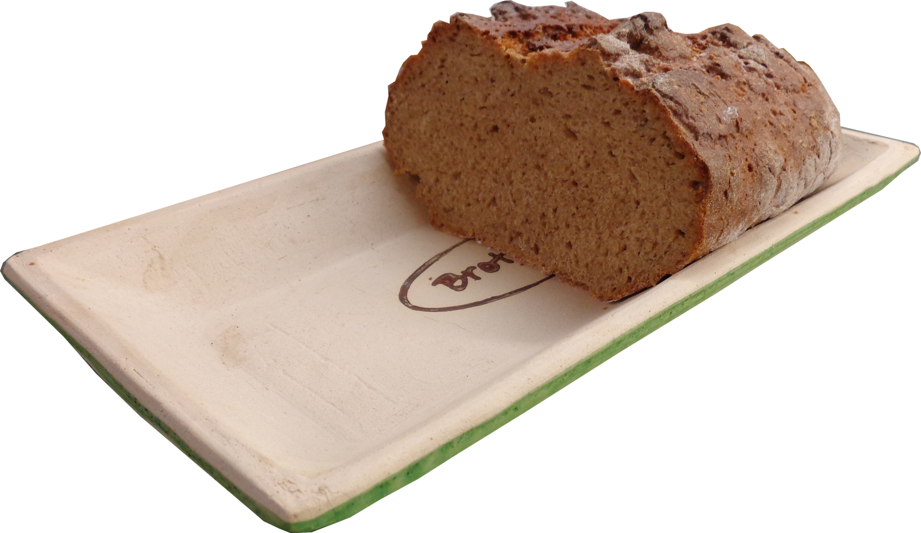 Brot Backform Brotback Mulde Keramik Stonecrystall Art
